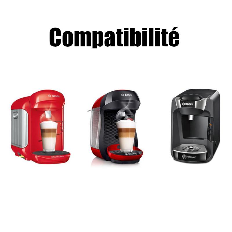 Accessoire de machine /à caf/é rechargeable pratique compatible avec machine /à caf/é Tassimo